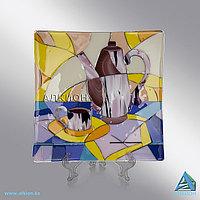 Стеклянная тарелка «Натюрморт» (Сувенир)