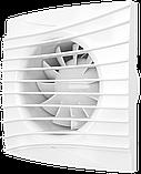 SILENT 5C TURBO, Вентилятор осевой вытяжной с двигателем повышенной мощности и обр.клапан D125, фото 3