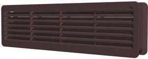 4409ДП кор, Решетка вентиляционная переточная АБС 450х91, кор.