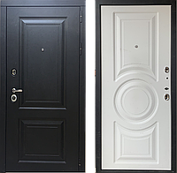 """Металлическая дверь""""Неаполь"""", цвет Черный муар"""