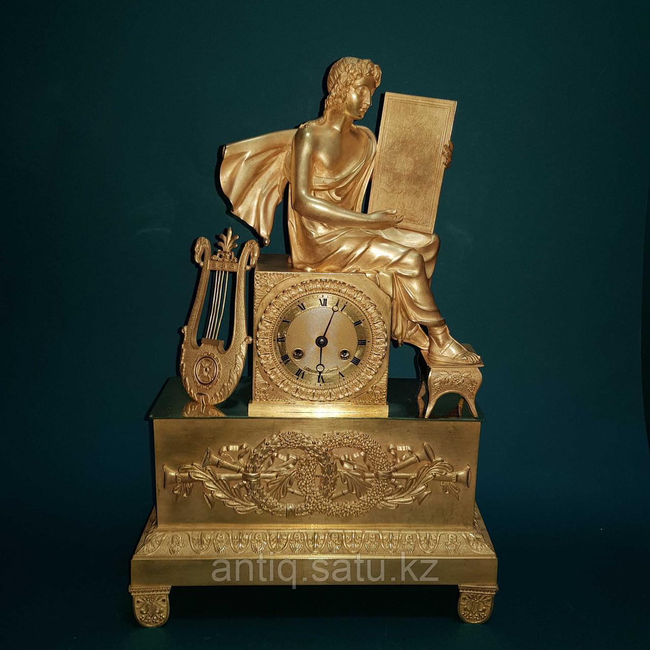 Кабинетные часы в стиле Ампир. Франция. XIX век - фото 4