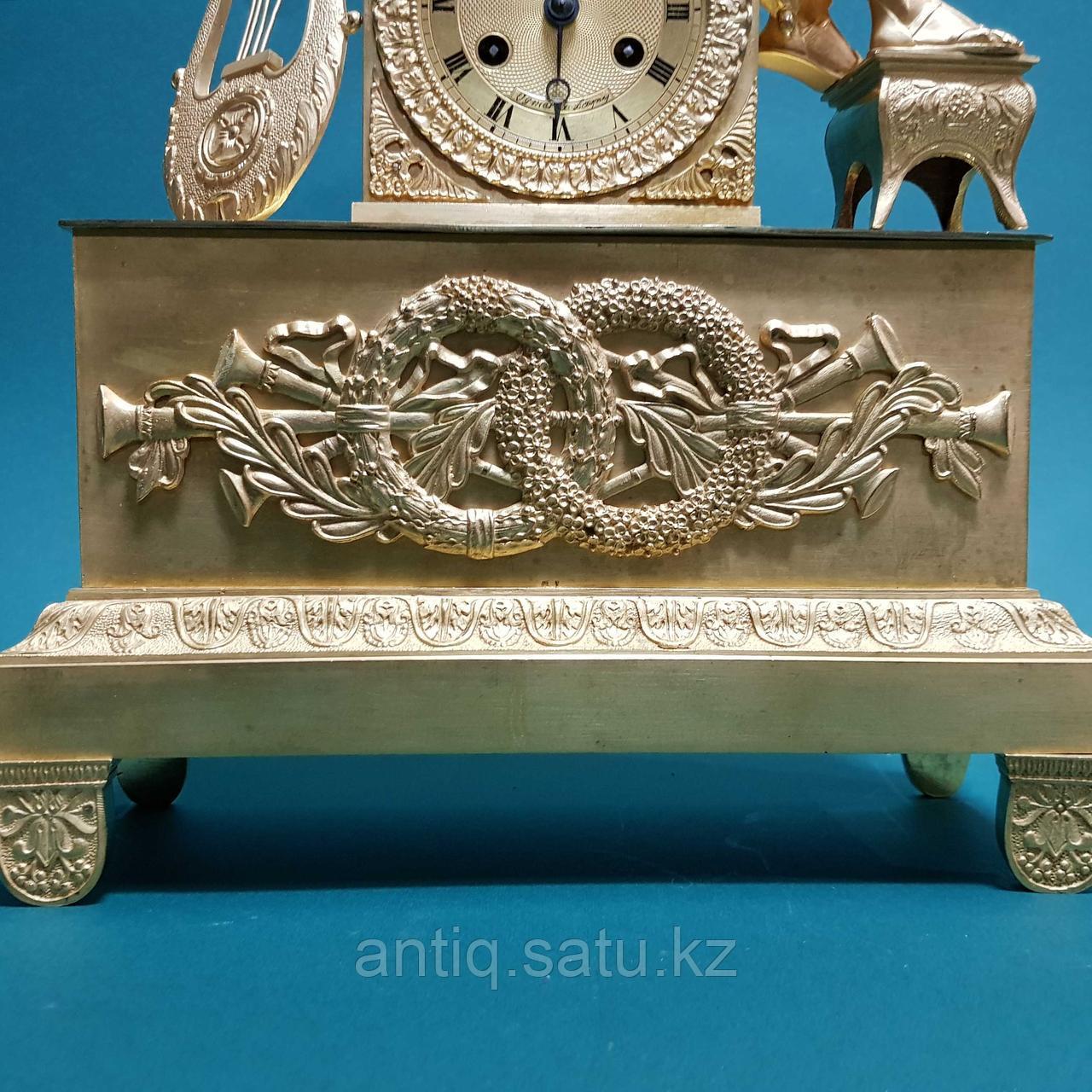 Кабинетные часы в стиле Ампир. Франция. XIX век - фото 6