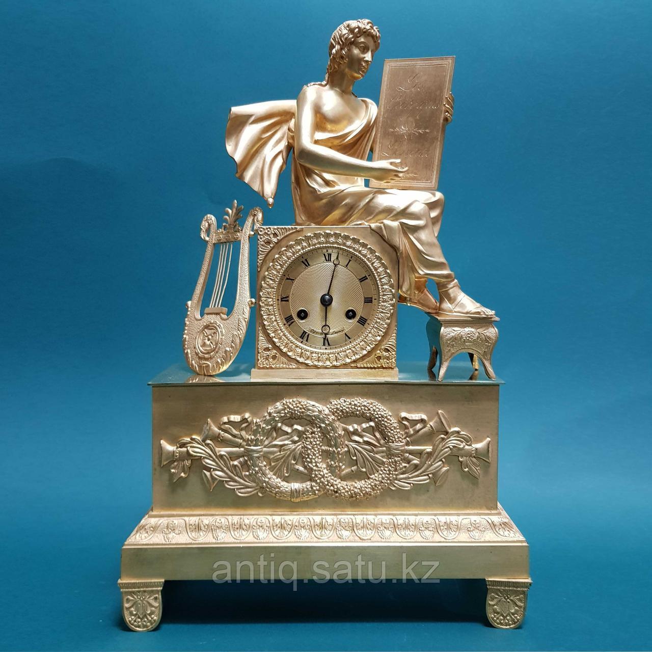 Кабинетные часы в стиле Ампир. Франция. XIX век - фото 2