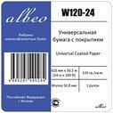 Бумага для плоттеров.  Albeo IInkJet Coated Paper W120-24, фото 3