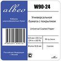 Бумага универсальная с покрытием для плоттеров.  Albeo InkJet Coated Paper W90-24, фото 3