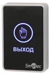 Кнопка выхода Smartec ST-EX020LSM-BK, сенсорная