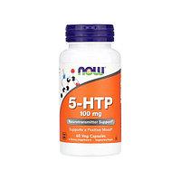 Антидепрессант Now Foods - 5-HTP, 100 мг, 60 капсул