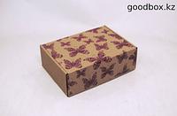 """Подарочная коробка """"Розовые бабочки"""""""