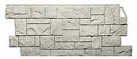 Фасадные панели Жемчужный 1123x465 мм Дикий камень FINEBER, фото 1