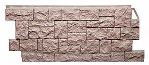 Фасадные панели Терракотовый 1123x465 мм Дикий камень FINEBER