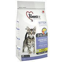 1st Choice Kitten (Фест Чойс) корм для котят с курицей,  350 г