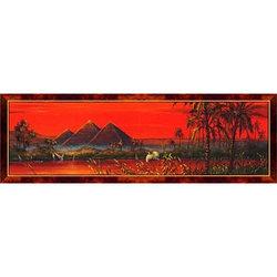 Dino puzzle Панорамный Пазл из 1000 деталей. Пирамиды Гизы, Египет