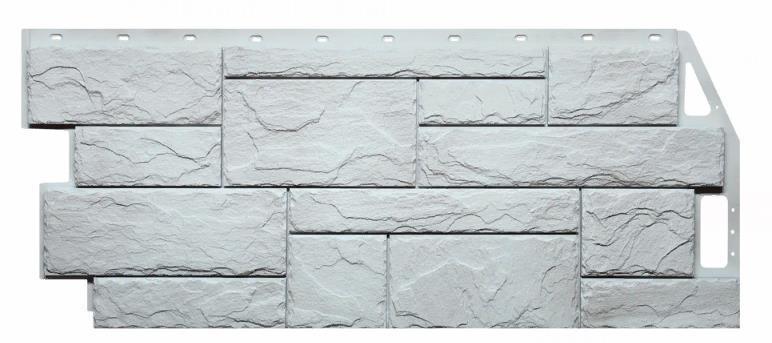 Фасадные панели Жемчужный 1087x446 мм Камень природный FINEBER