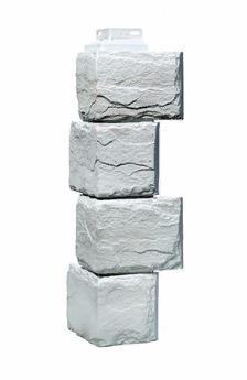 Угол Наружный Жемчужный 455х137х137 мм Камень природный FINEBER