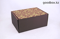 "Подарочная коробка ""Коричневая шкатулка"" №3"