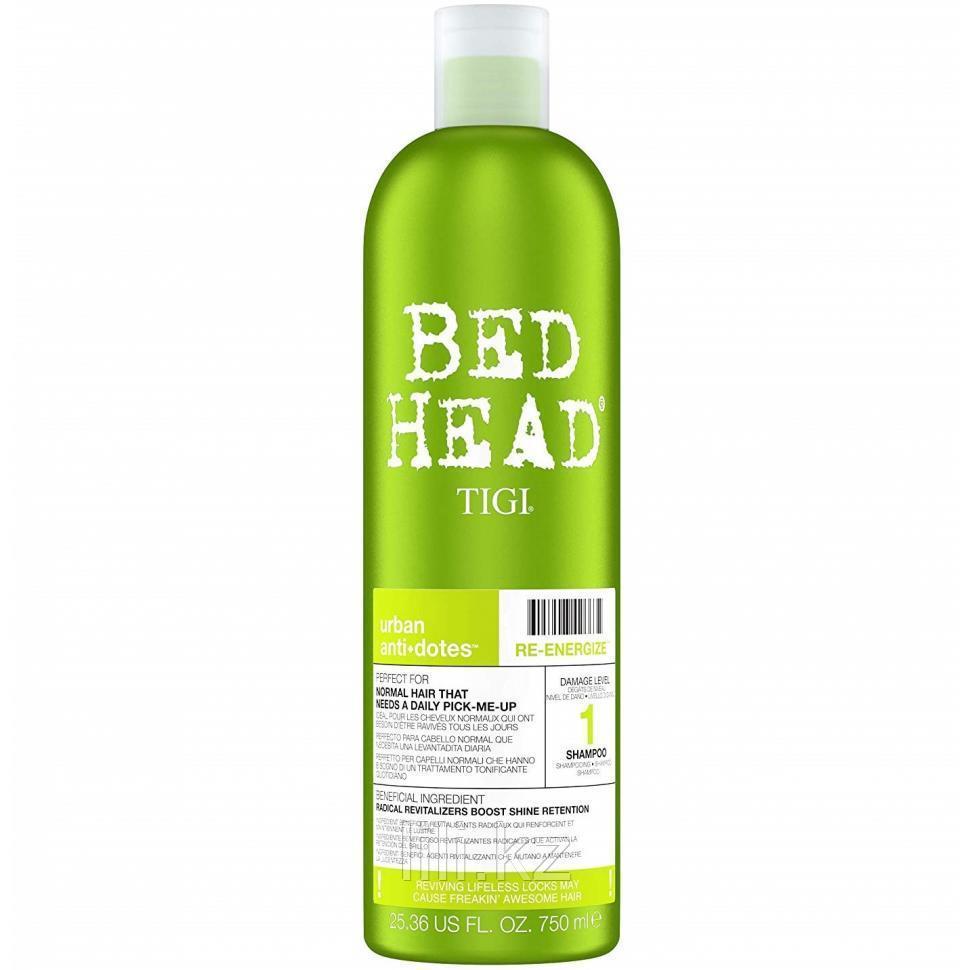 Шампунь для нормальных волос, уровень 1 - Bed Head Urban Anti+dotes Re-Energize 750 мл.