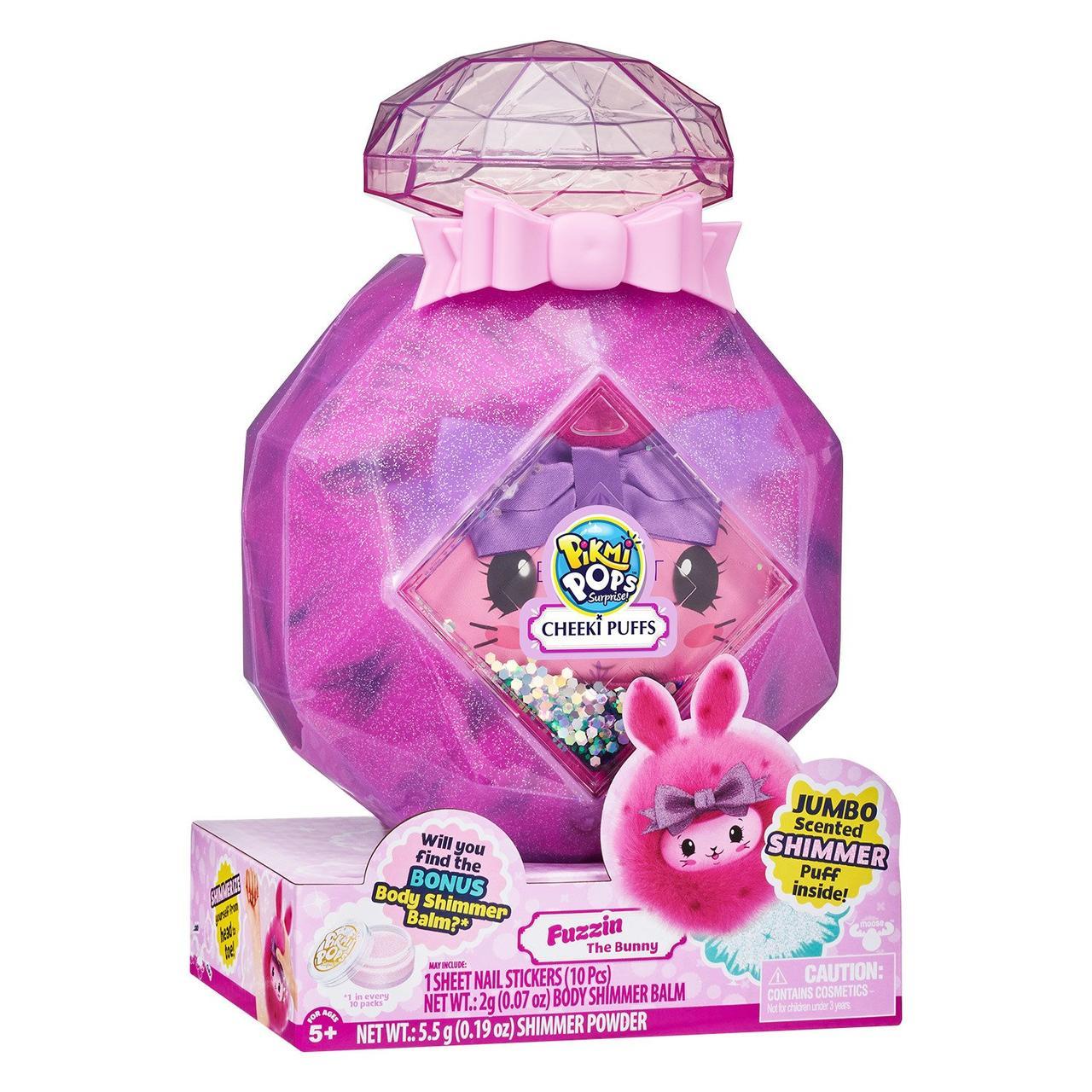 Pikmi Pops Cheeki Puff Мега-набор Кролик