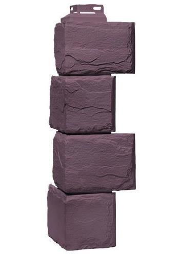 Угол Наружний Серо-коричневый 455 мм Камень природный FINEBER