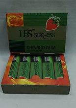 Возбуждающая жвачка LBS success ( Упаковка: 10 коробочек по 5 пластинок )