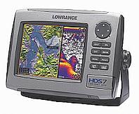 Навигатор-эхолот Lowrance HDS-7 без трансдьюсера