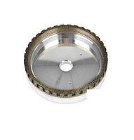 1 Позиция с перфорацией. Круг алмазный чашечный на металлической связке 150х22х10х8мм., зерно 100