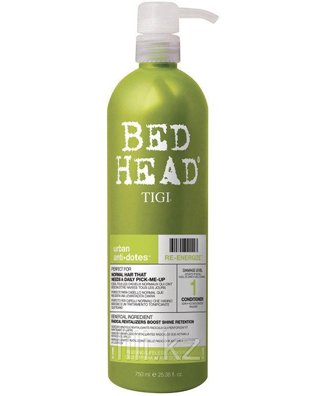 Кондиционер для нормальных волос, уровень 1 / BED HEAD Urban Anti+dotes Re-Energize 750 мл