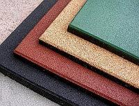 Резиновое покрытие, плитка 50*50*4см