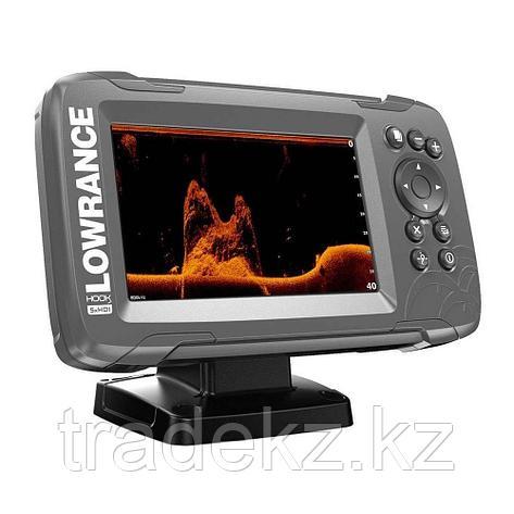 GPS навигатор-эхолот Lowrance HOOK2-5X GPS SPLITSHOT, фото 2