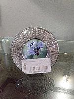 Фоторамка с камнями(стразы) маленький круг