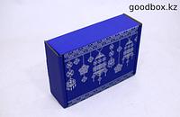 "Подарочная коробка ""Тойбастар"" (синяя)"