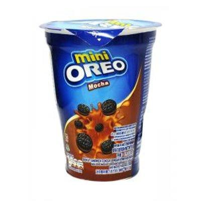 Печенье Oreo Mini Mocha 61,3гр Мини Орео Кофейно-шоколадный вкус