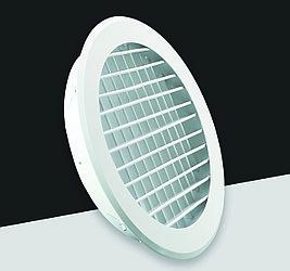 Диффузор круглый с решеткой D200(FK031)