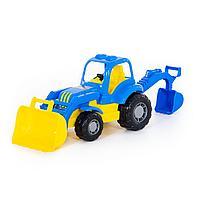 "Трактор-экскаватор ""Крепыш"""