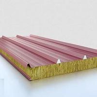 Сэндвич-панель стеновая с наполнителем из минеральной ваты 150*1200