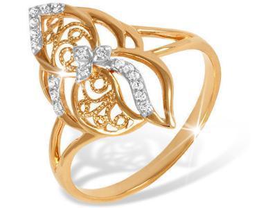 Золотое кольцо EFREMOV К1322914_17