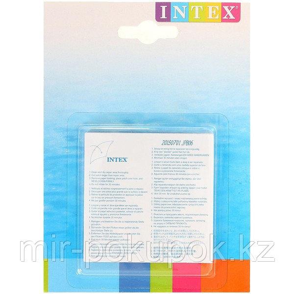 Ремкомплект: 6 самоклеящихся заплаток (7*7) Intex