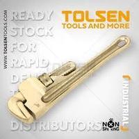 Ключ искробезопасный Tolsen 70311 / Non spark pipe wrench