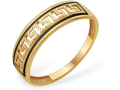 Золотое кольцо EFREMOV К11910484_17 (Эмаль)