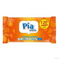 Влажные салфетки Pia Wipes