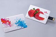 Нанесение логотипа на флешки-визитки