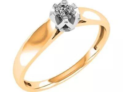 Золотое кольцо Diamond Union 5-3507-103-1К_16