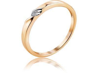 Золотое кольцо Diamond Union 5-3466-103-1К_165