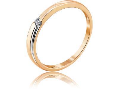 Золотое кольцо Diamond Union 5-3465-103-1К_17