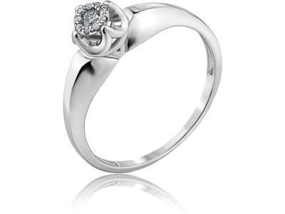 Золотое кольцо Diamond Union 5-3448-103ИНВ-1Б_18
