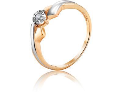 Золотое кольцо Diamond Union 5-3427-103И1-1К_175