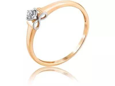Золотое кольцо Diamond Union 5-3377-103-1К_17