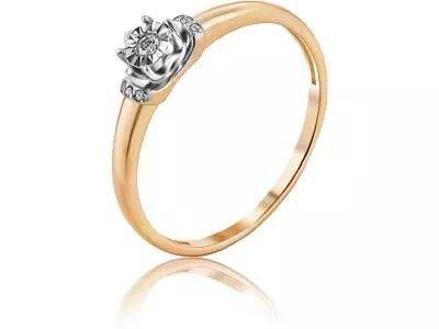 Золотое кольцо Diamond Union 5-3245-103И1-1К_175