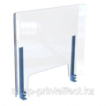 Защитная перегородка (экран) для стола 800х600мм