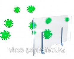 Защитная перегородка (экран)  для стола 1200х600