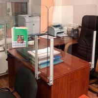 Защитный экран для стола 1600х600мм